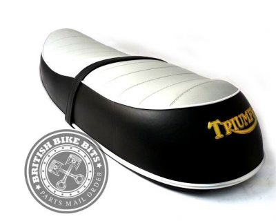 Grey Top Classic Seat for Triumph Bonneville